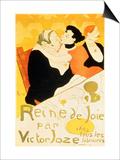 Reine De Joie, 1892 Arte por Henri de Toulouse-Lautrec