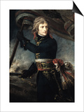 General Bonaparte (1769-1821) on the Bridge at Arcole, 17th November 1796 Posters by Antoine-Jean Gros