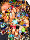 Gemstones and Nails Prints by Graeme Montgomery