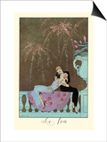Le Feu Print by George Barbier