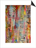 Metro Mix II Poster von Erin Ashley