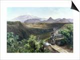 Velasco: The Train, 1897 Kunstdrucke von Jose Maria Velasco