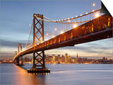 Bay Bridge, San Francisco, Califonia, USA Posters by Patrick Smith