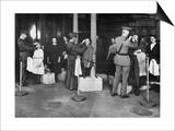 Ellis Island: Examination Print