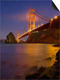 The Color of the Golden Gate Bridge Prints by Patrick Smith