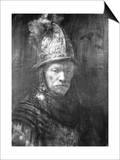 Portrait of a Man with a Golden Helmet, 1648 Posters by  Rembrandt van Rijn