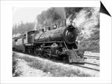 Railroad Locomotive 1443, Circa 1909 Prints by Asahel Curtis