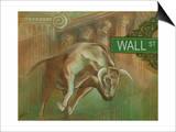 Bull Market Art by Ethan Harper