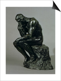 The Thinker (Le Penseur) Prints by Auguste Rodin