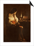 Mary Magdalene with a Night-Light, or the Terff Magdalene Prints by Georges de La Tour