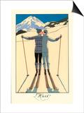 L'Hiver Prints by Georges Barbier