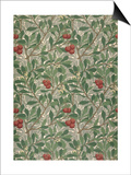 Arbutus Wallpaper Design Print by William Morris