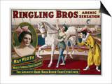 Circus Poster, C1918 Prints