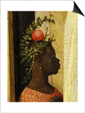Young Black Page of King Gaspard with Apple on Head, from Adoration of the Magi, Tripytch Poster by Hieronymus Bosch