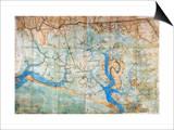 Venice: Map, 1546 Posters by Cristoforo Sabbadino