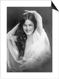 Evelyn Nesbit (1885-1967) Prints by Otto Sarony