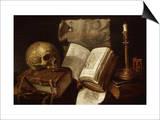 Vanité (Vanitas), 1641 Prints by Damien Lhomme
