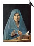 Bebudelsen, 1474-75 Kunst af Antonello da Messina