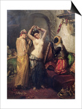 The Toilet in the Seraglio Posters by Theodore Chasseriau