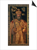 Charlemagne, Charles the Great (747-814) King of the Franks, Emperor of the West Posters by Albrecht Dürer