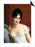 Francois Gerard - Portrait of Madame Recamier (1777-1849) - Sanat