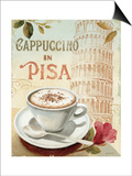 Cafe in Europe IV Prints by Lisa Audit