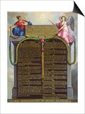 Declaration of the Rights of Man and Citizen, 1789 Posters
