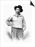 Walt Whitman (1819-1892) Prints by Samuel Hollyer