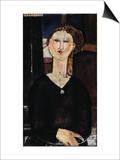 Antonia, circa 1915 Posters by Amedeo Modigliani