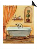 Tuscan Bath I Posters by Silvia Vassileva