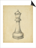Antique Chess III Print by Ethan Harper