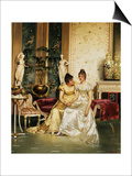 A Shared Confidence Prints by Joseph Frederic Charles Soulacroix