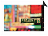 On Broadway Prints by Ben Richard