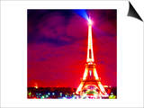 Eiffel Tower Night, Paris Prints by  Tosh