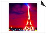 Eiffel Tower Night, Paris Prints by  Tosh