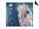 Death and Life, circa 1911 Poster von Gustav Klimt