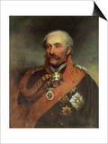 Field Marshal Prince Von Blucher (1742-1819) circa 1816 Art by George Dawe