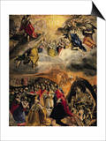 The Adoration of the Name of Jesus, circa 1578 Prints by  El Greco