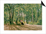 At the Summer Cottage, 1894 Prints by Ivan Ivanovitch Shishkin