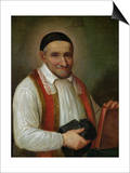 St. Vincent De Paul (1581-1660) 1649 Prints by Sebastien Bourdon
