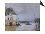 The Flood at Port-Marly, 1876 Posters by Alfred Sisley