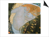 Danae, c.1907 Prints by Gustav Klimt