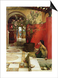 An Oleander, 1882 Prints by Sir Lawrence Alma-Tadema
