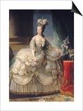 Marie Antoinette (1755-93) Queen of France, 1779 Poster von Elisabeth Louise Vigee-LeBrun