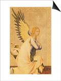 Angel Gabriel Posters af Simone Martini