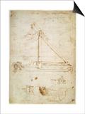 War Machine Kunstdrucke von  Leonardo da Vinci