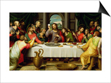 The Last Supper Posters by Vicente Juan Macip