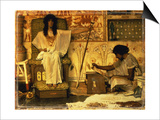 Joseph, Overseer of the Pharaohs Print by Sir Lawrence Alma-Tadema