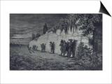 "Werewolves, Illustration for ""Legendes Rustiques"" 1858 Posters by Baron Dudevant Jean Francois Maurice Sand"