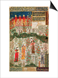 Persian Garden, 15th Century Prints